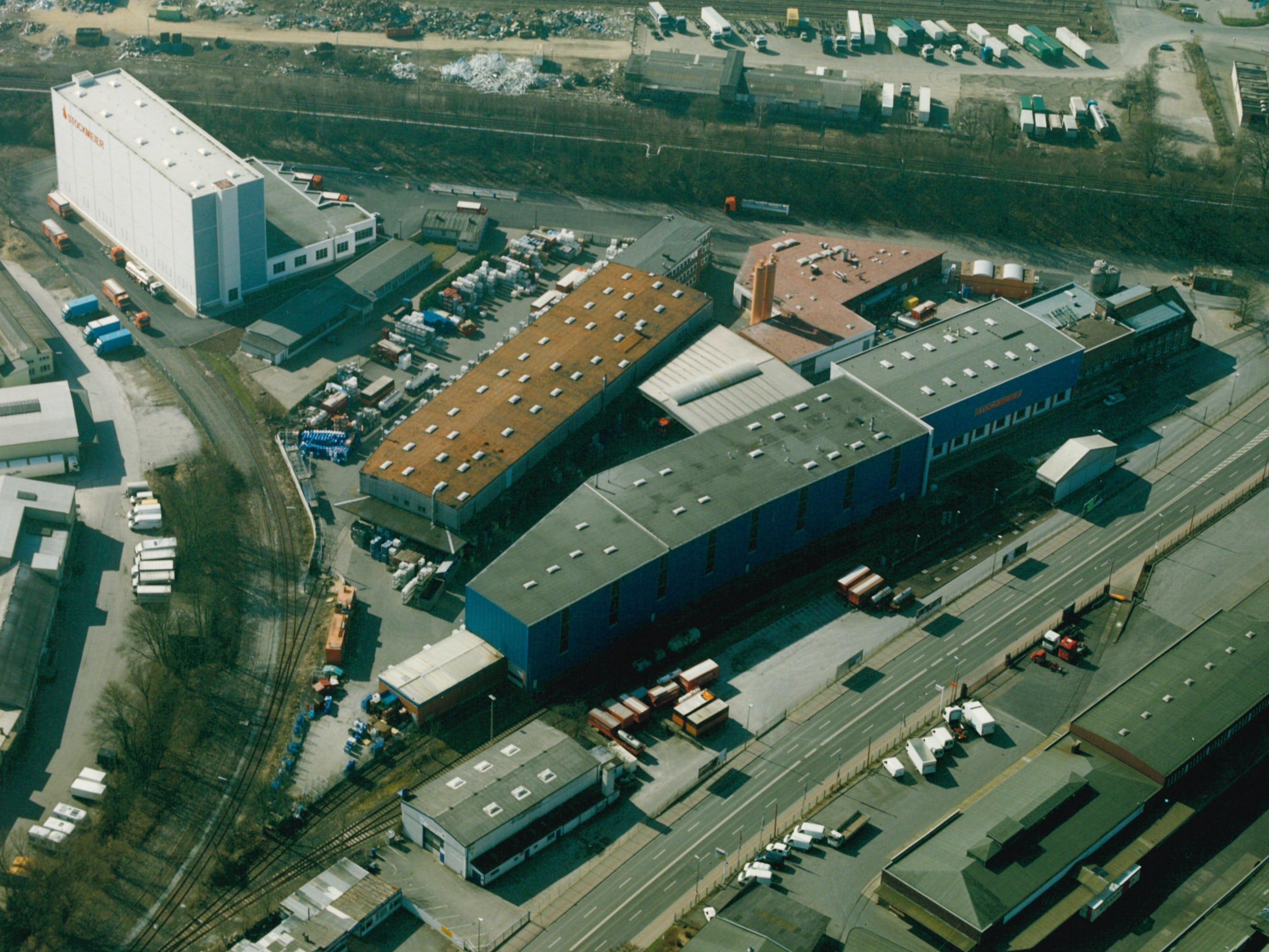 Hochregallager Bielefeld 2003