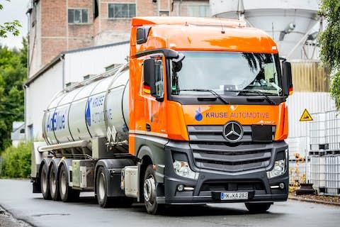 AdBlue Tankwagen zur Bulk Lieferung
