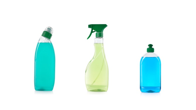 Anionic surfactants in cleaners